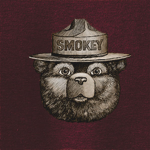 Smokey Scroll T-shirt, Adult