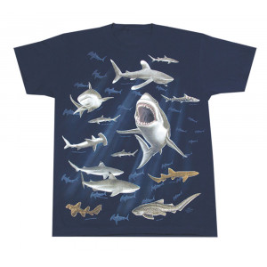 Sharks T-Shirt, Adult