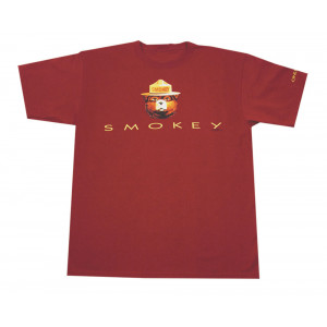 Smokey in Letters T-shirt, Adult