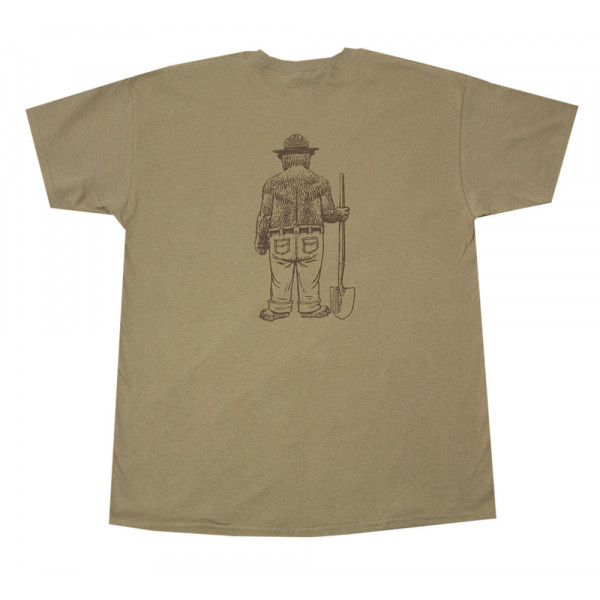 Standing Smokey T-shirt, Adult