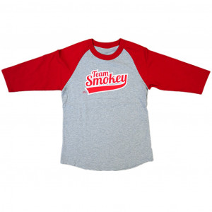 Team Smokey 3/4 Sleeve Baseball Tee, Youth