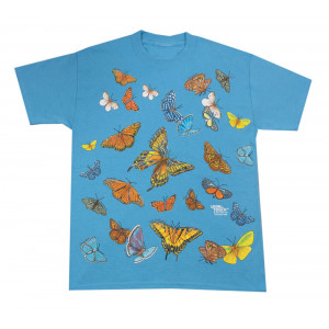 Butterflies T-Shirt, Youth