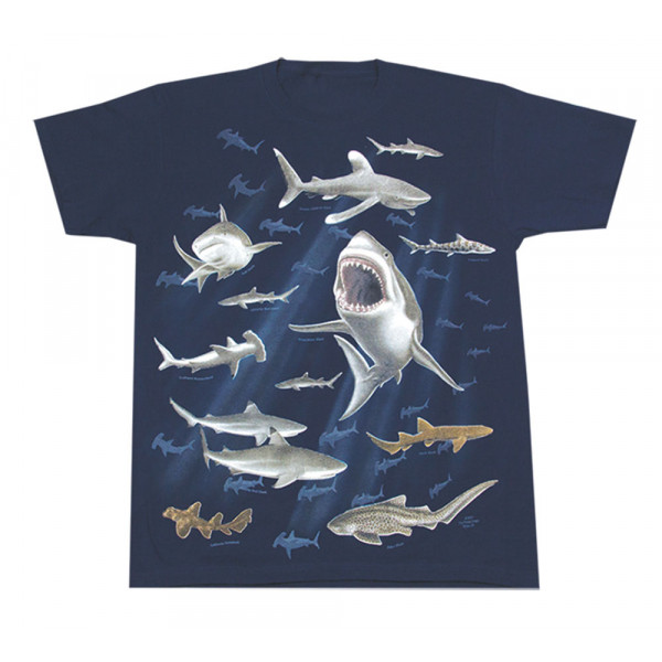 Sharks T-Shirt, Youth