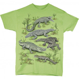 Crocodiles T-Shirt, Youth