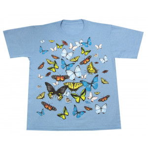Big Butterflies T-Shirt, Youth