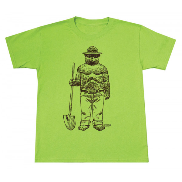 Standing Smokey T-shirt, Youth