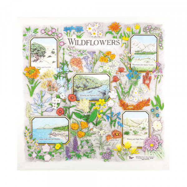 Wildflowers Bandana