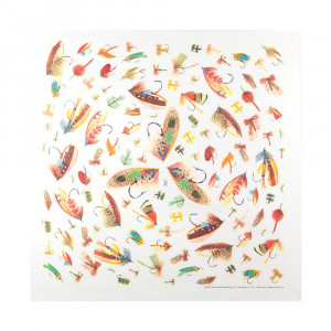 Fly Fishing Hooks Bandana