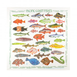 Pacific Coast Fishes Bandana