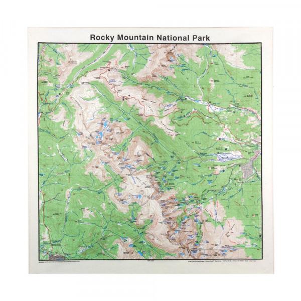 Rocky Mountain Bandana, Topo