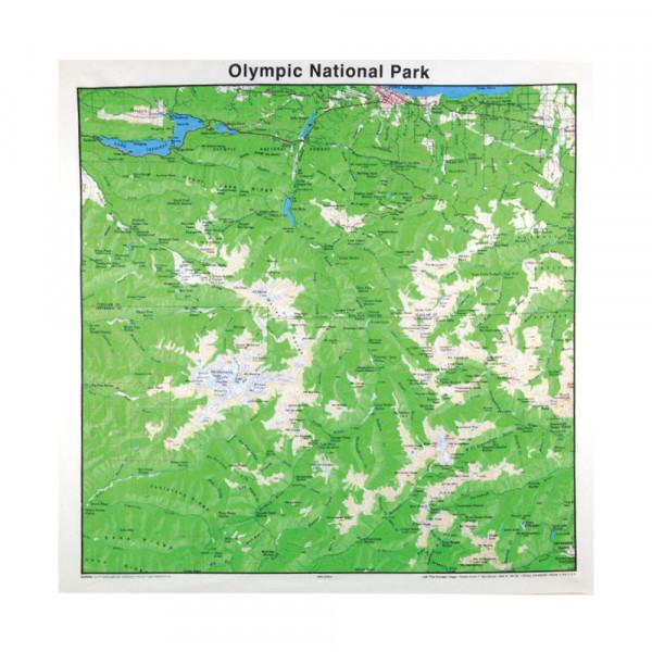 Olympic National Park Bandana, Topo