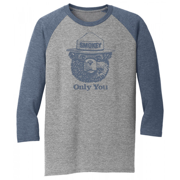 Smokey Seal Raglan, Adult