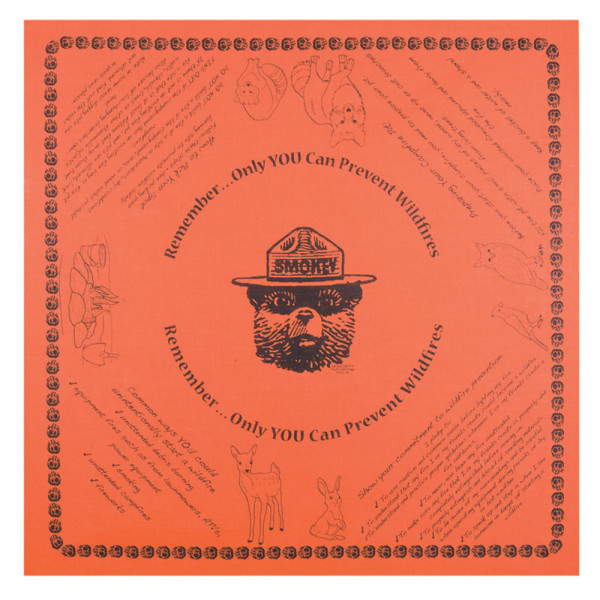 Wildfire Prevention Bandana