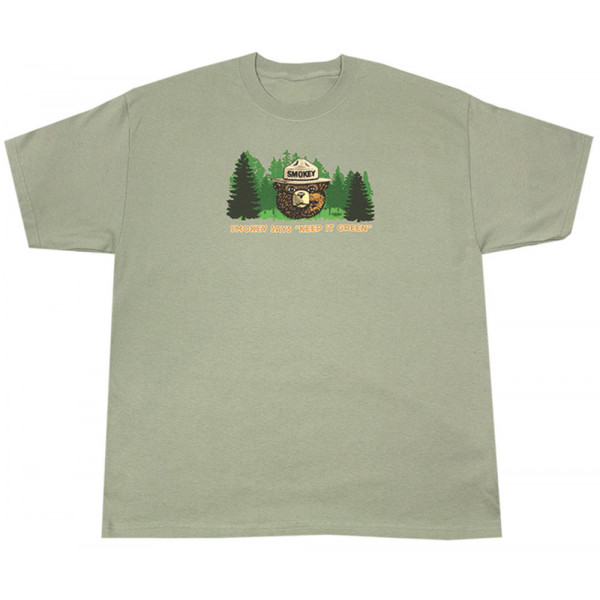 Smokey Keep it Green T-shirt, Adult