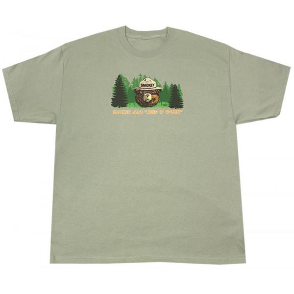 Smokey Keep it Green T-shirt, Adult