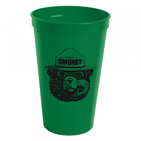 Smokey Keep Forests Green Cup