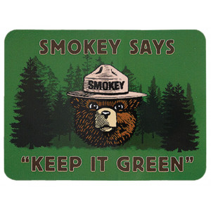 Smokey Keep It Green Sticker