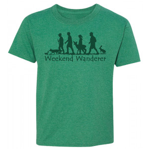 Weekend Wanderer T-shirt, Adult