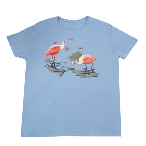 Roseate Spoonbill T-shirt, Ladies