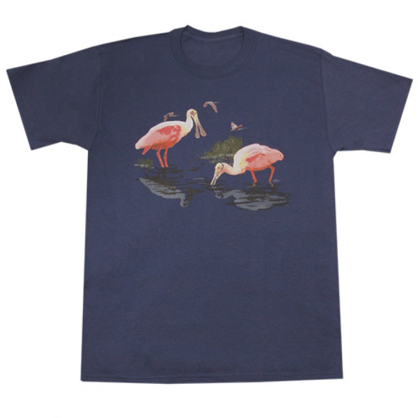 Roseate Spoonbill T-shirt, Adult