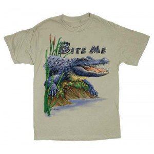 Bite Me Alligator T-Shirt, Adult