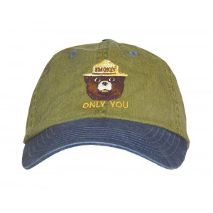 Smokey Embroidered Pigment Dyed Hat, Adult