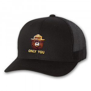 Smokey Embroidered Trucker Hat, Adult