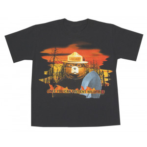 Smokey Flames T-shirt, Youth