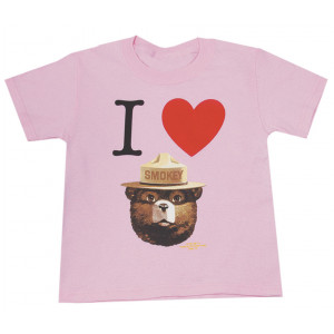 I Heart Smokey T-shirt, Youth