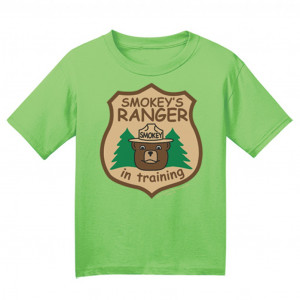 Smokey Ranger In Training T-shirt, Infant