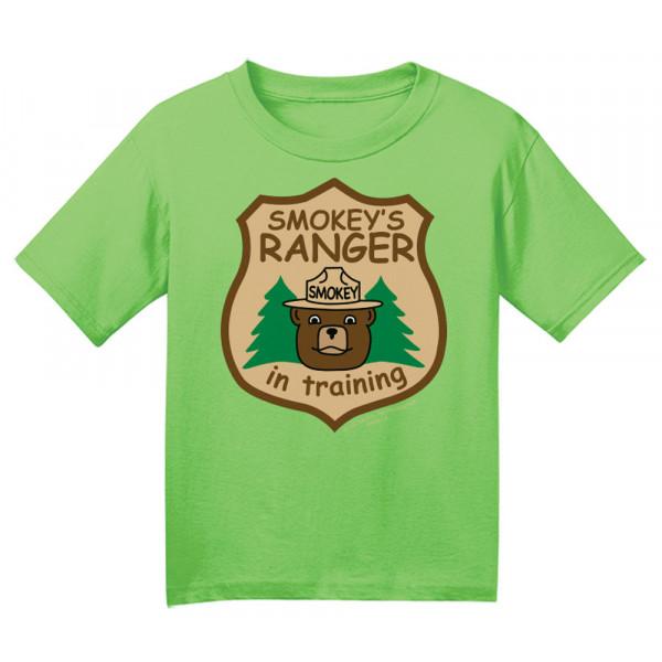 Smokey Ranger In Training T-shirt, Toddler