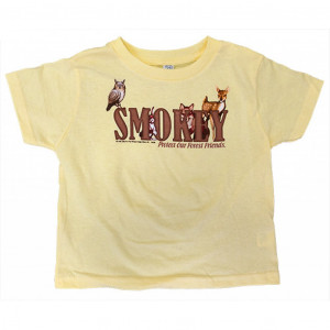 Smokey Friends T-shirt, Infant Tee