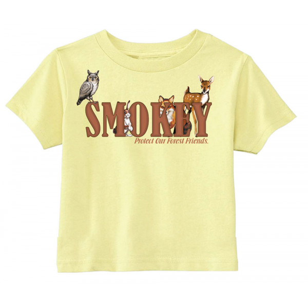 Smokey Friends T-shirt, Toddler Tee