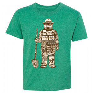 Smokey Saying T-shirt, Youth