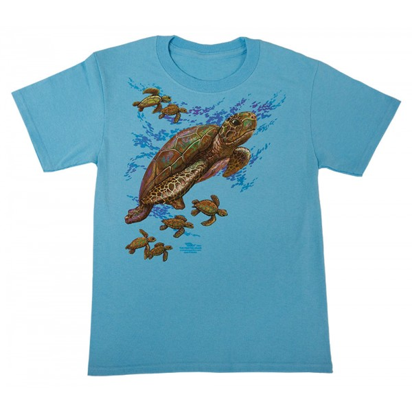 Big Sea Turtle T-Shirt, Youth