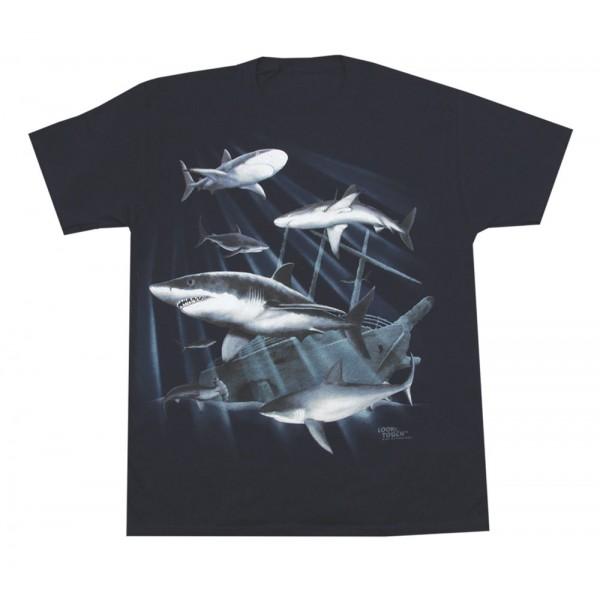 Shipwreck Sharks T-Shirt, Youth