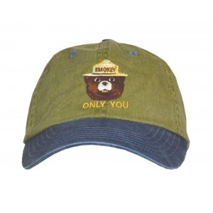 Smokey Embroidered Pigment Dyed Hat, Youth