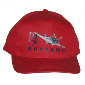 P-51 Mustang Embroidered Hat, Adult