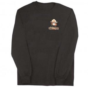 Smokey Flames Long Sleeve Shirt, Adult