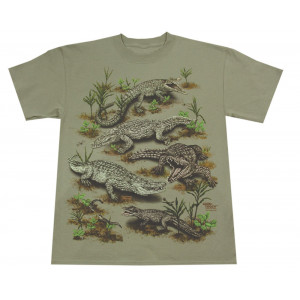 Crocodiles T-Shirt, Adult