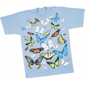 Big Butterflies T-Shirt, Adult