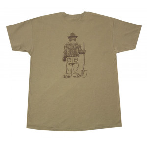 Standing Smokey T-shirt, Adult