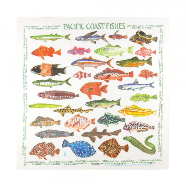 Pacific Coast Fishes Bandana