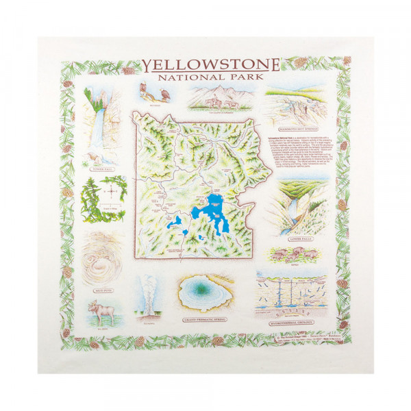 Yellowstone National Park Bandana