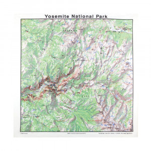 Yosemite National Park Bandana, Topo