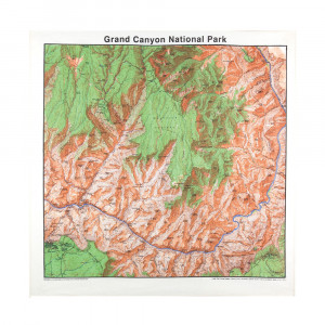 Grand Canyon Bandana, Topo
