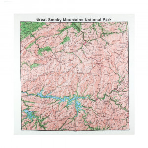 Great Smokey Mountains Bandana, Topo