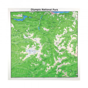 Olympic National Park Bandana, Topo