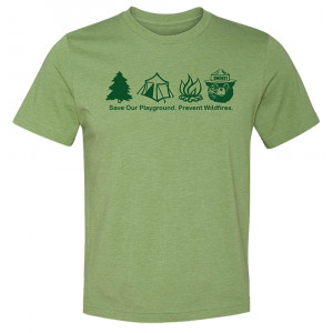 Smokey Symbols T-shirt, Adult