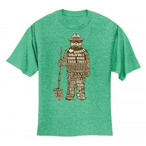 Smokey Saying T-shirt, Adult